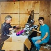 History: Mark Forti and his dad building the very first x-zylos in garage